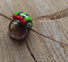 Caterpillar ring by MeticulousBlue