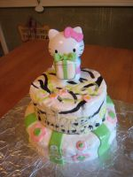 Hello Kitty Cake by Keep-It-Sweet