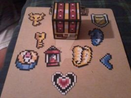 Treasure Chest PaperCraft by SuperVegeta71290