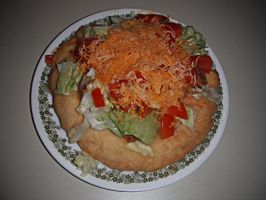 indian taco by mysteriousfantasy