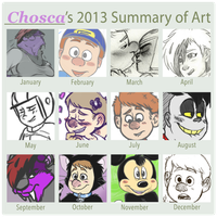 2013 Summary of Art by Choscaa