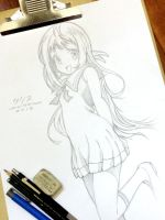 Manaka Mukaido - Nagi no Asukara by yourcris
