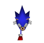 Sonic Low-Frame Running Animation (GIF) by OrdoMandalore