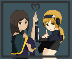 hellen and nanda by anime1448