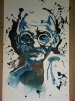 Wise and Foolish, watercolour by Addsy
