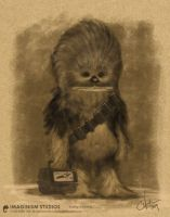 young Chewbacca by maleman