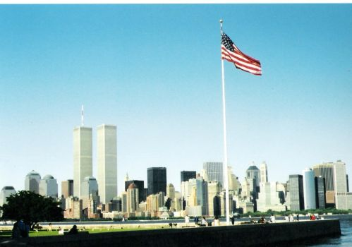 Twin Towers New York by historymaker101