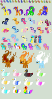 Open Adopts 2 by FinalSmashPony