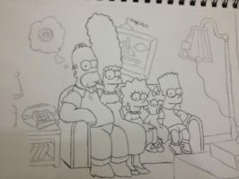 The Simpsons by AguilarX