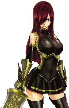 Erza Scarlet Ch. 379 Cover Render by NearlySaint