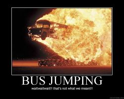 Bus Jumping motivation by redhatpieman