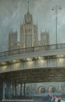 Bolshoy Ustinsky Bridge by EKukanova