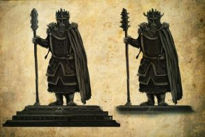 Forodren Auth: Dwarven Statues 3 by Meanor