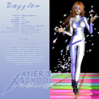 Dazzler - Xavier's School EX Edition by Sailmaster-Seion
