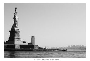 NYC- Liberty's Welcome by taoge
