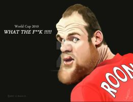World Cup 2010 - Rooney by Steveroberts
