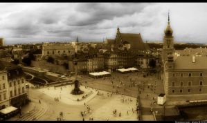The Old Town Warsaw 2 by gregivan