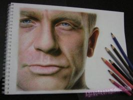 Skyfall On The Paper - Daniel Craig by A-D-I--N-U-G-R-O-H-O