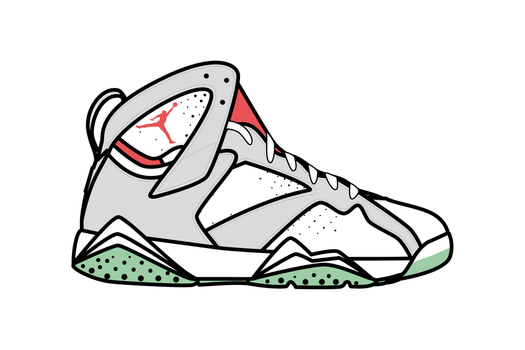 Aj7_air jordan 7_Yeezy_Wolf Grey_Pure Platinum by kleneg