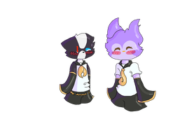 Kagamine Twins .:GIFT:. by GABAGARB