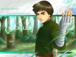 Beautiful Beast Rock Lee by kashigi