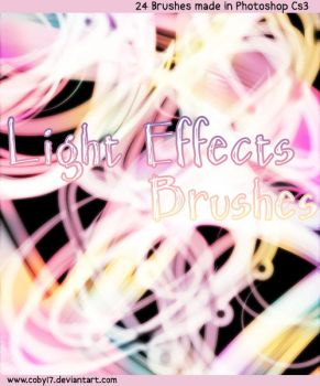 Lights Effects Brushes PS by Coby17