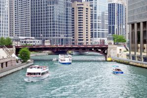 Chicago River by mity1021
