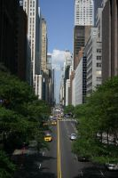 Road in NY City by Ixion-TdC