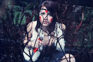 Princess Mononoke by Sarahmillerphoto