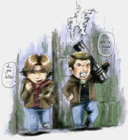 Dean The Hero XD by ReitaWolf