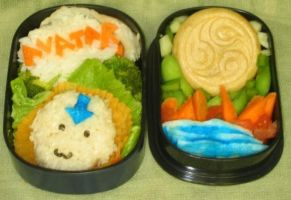 Avatar the Last Obento by gargoylekitty