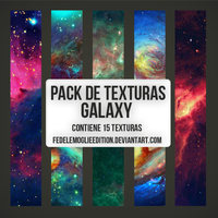 Pack de Texturas Galaxy by FedeLeMoglieEdition