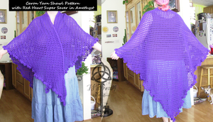 Shawl 2 -With pattern- by KitWolfren