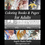 Coloring Books and Pages for Adults 7-14-2015 by AngelaSasser