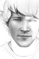Jared Padalecki WIP 1 by Cataclysm-X