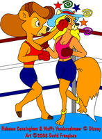 Boxer Becky - Knockout by tpirman1982