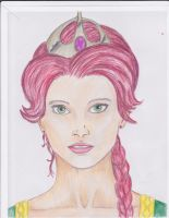 Princess Fiona - colored by Justin1592
