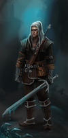 Geralt of Rivia by Tissia1229