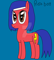 Rush bolt by DoctorWii