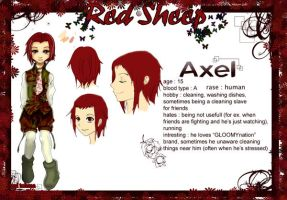 Red Sheep :: Axel OC by yui-tohma