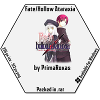 Fate Hollow Ataraxia Icon for Windows by PrimaRoxas