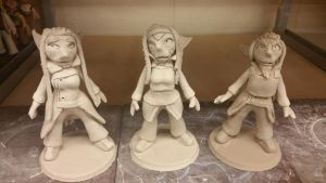 small figures finished. by ownerfate