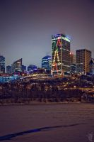 Edmonton City II by digital-uncool