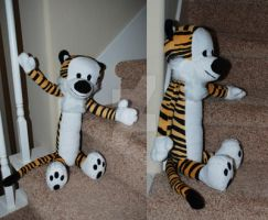 Hobbes Plush Commission by sengster