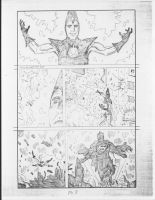 Superman vs. The Solar Abolisher page 3 by RoyPrince