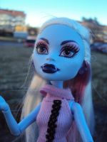 Monster High - Abby Snow. 4 by Jessi-element