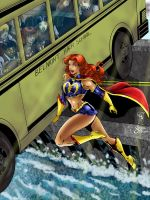 Catching the Bus Colored by Sean-Loco-ODonnell