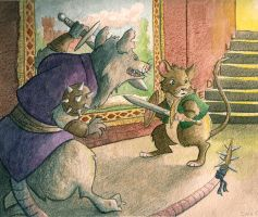 Redwall by saraell