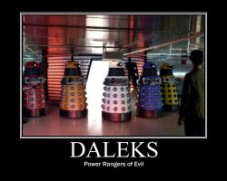 Daleks Demotivational by VampiricYoshi