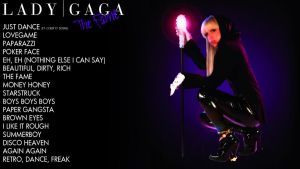 Lady GaGa The Fame Wallpaper by SethVennVampire